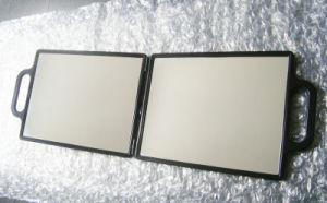 Environmental ABS Double Mirror with Handle pictures & photos