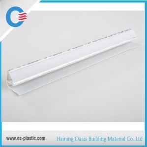 PVC Panel Corner Moulding PVC Top Angle Profile pictures & photos