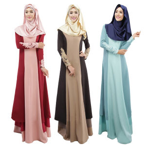 Newest Kaftan, Women Long Sleeve Slim Muslim Abayas (A989) pictures & photos