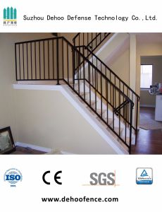 Galvanized Black Coated High Quality Stair Fencing for Home pictures & photos