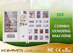 10 Columns Pharmacy Vending Machine with Advertisement Screen Operated by Mdb pictures & photos