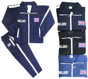 Printing Logo Kids Tracksuit/ Jogging Tracksuit in Children Clothes (A746)