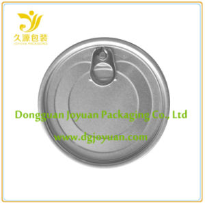 Aluminum Easy Open Tin Cover Eoe (401# Dia. 98.9mm) pictures & photos