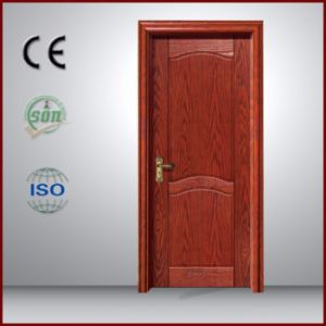 China Entrance and Classical Style Interior PVC Wooden Door for Room pictures & photos