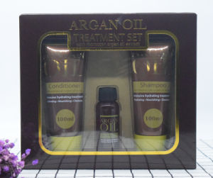 Morocco Argan Oil Hair Treatment Set with Moroccan Argan Oil Extract pictures & photos