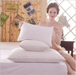 Rectangle Shaped Handmade 6cm Feather Pillow pictures & photos