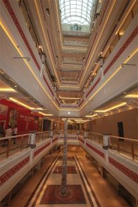 China Large Span Shopping Mall Steel Frame Structural Glass Dome Roof Skylight pictures & photos