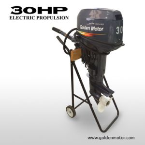 30HP Electric Boat Engine/ Electric Outboard/ Electric Outboard Propulsion for Marine pictures & photos
