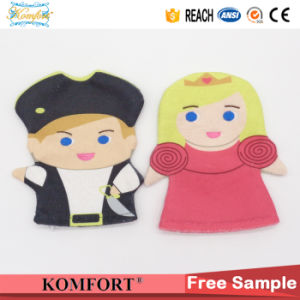 Cute Baby Hand Puppet Shower Gifts Glove SPA Bath Toy Kids pictures & photos
