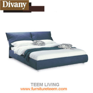 Divany Good Quality Latest Italy Design Double Bed pictures & photos