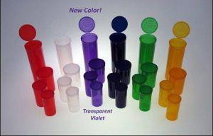 Plastic Vials Prescription Bottle, Clear Plastic Tubes, Sample Vials pictures & photos