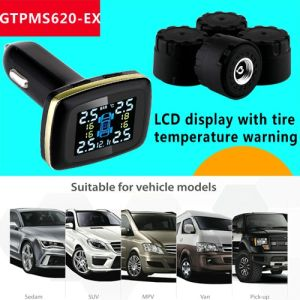 Cigaret TPMS for Car Easy Intallation DIY Install TPMS