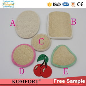 Disposable Wholesale Bath Luffa Animal Hotel Natural Loofah Sponge (KLB-40) pictures & photos