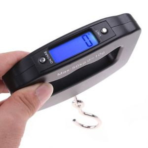 Blacklight Function 50kg Digital Hanging Travel Scale pictures & photos