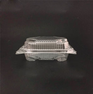 Disposable Clear/transparent Sandwich/cake Plastic Food Container/box/packaging pictures & photos