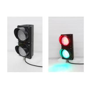 Customized 100mm Cobweb Lens Mini LED Signal Traffic Light pictures & photos