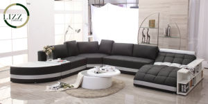 2017 Hot Sell U Shape Corner Sofa Set (LZ-219) pictures & photos