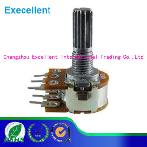 16mm Rotary Potentiometer Wh148 Radiohm Audio Video Speaker Volume Control pictures & photos