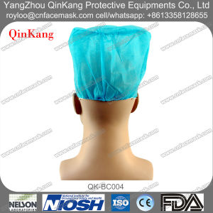 Disposable Hospital Surgical Elastic Non Woven Doctor Cap pictures & photos