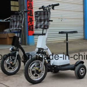 350W Hub Motor Electric Motorcycle 3 Wheel E Scooter Zappy Ginger Roadpet pictures & photos