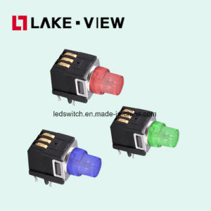 Right Angle LED Illuminated Tactile Switch Applications Include Telecommunications Equipment pictures & photos