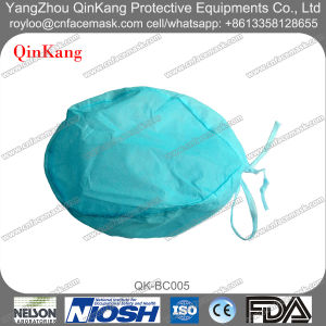 Disposable Medical PP Nonwoven Nurse Cap with Tie on pictures & photos