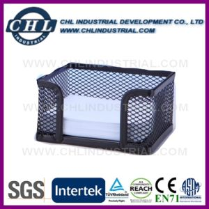 Mini Office Custom Handmade Rectangle Mesh Office Storage Baskets pictures & photos