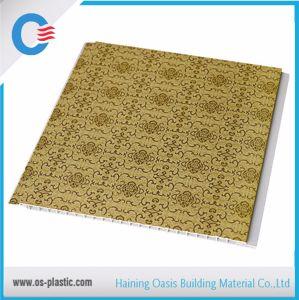 20cm to 30cm Width Laminated Wooden Grain Design Texture PVC Wall Panel Plastic PVC Panel pictures & photos