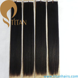 Blond Brazilian Human Remy Tape Hair Extension pictures & photos