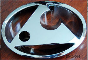 Colorful ABS Plastic Car Logo Badge pictures & photos