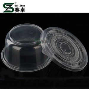 Simple Transparent Soup Bowl with Lid (SZ-L-Y360 500 700 850 999) pictures & photos