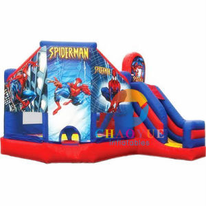 Spider Man Inflatable Bouncy Jumping Castle for Kids pictures & photos