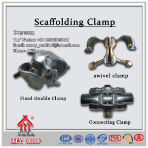 Scaffolding Steel Swivel Clamp/Coupler with Factory Price pictures & photos