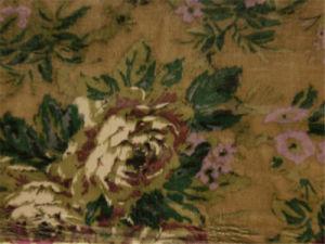 Printed Silk Velvet in Flower Design pictures & photos