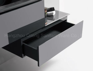 Dark Grey Morden Bathroom Cabinet in China pictures & photos