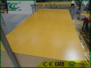 17mm MDF Laminated Wood Grain Melamine Paper for Cabinets pictures & photos