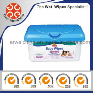 Baby Wipes Scented 72 Wipes pictures & photos
