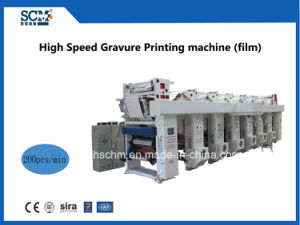 High-Speed Plastic Film Rotogravure Printing Machine pictures & photos
