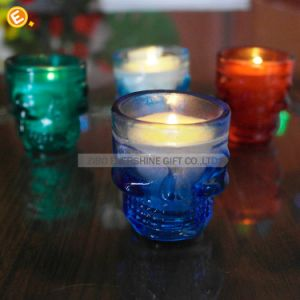 Skull Shot Glass Candle Holder pictures & photos