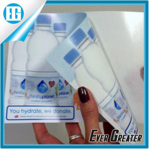 Waterproof Adhesive PVC Printing Double-Side Water Bottles Sticker pictures & photos