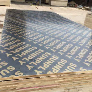 18mm Film Faced/Shuttering Plywood Construction Material pictures & photos