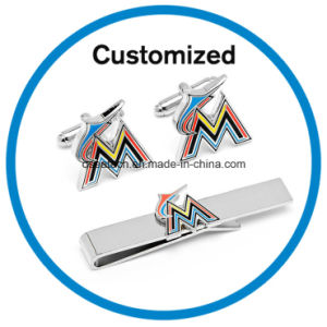 Custom Cuff Link Tie Pin Set pictures & photos