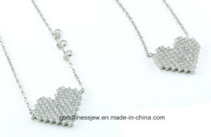 Hot Selling 925 Heart Set Sterling Silver Jewelry Set S3279 pictures & photos