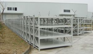 Wide Span Heavy Loads Warehouse Storage Steel Rack pictures & photos