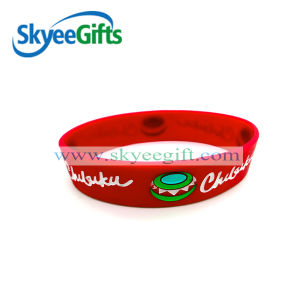 High Quality Customized Free Silicone Bracelets pictures & photos