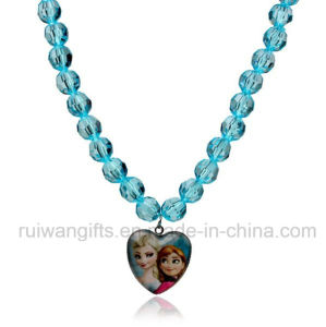 Wholesale Children Beads Necklace with Frozen Pendant pictures & photos