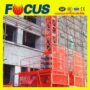 Automatic Control Sc120 Construction Hoist Single Cage pictures & photos