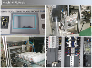 Automatic Tapes Cylindrical Pruducts Sleeve Sealing Shrinking Packing Machine pictures & photos