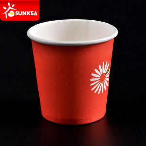 Printed Text Mini Paper Shot Cup pictures & photos