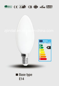 Full Glass LED Candle Bulb C37-Qb pictures & photos